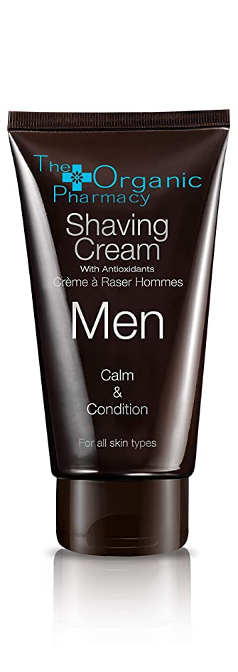 潜水艦によってクールThe Organic Pharmacy Men Shaving Cream - Calm & Condition 75ml/2.5oz並行輸入品