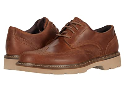 Rockport Charlee Wing Tip (Tan) Men