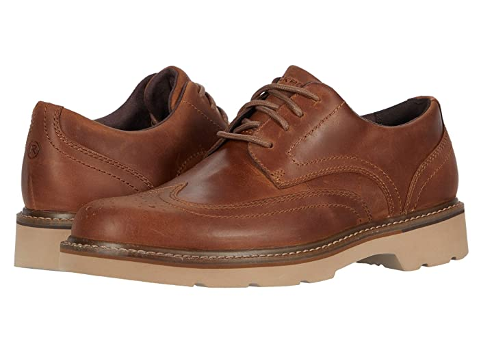 Rockport  Charlee Wing Tip (Tan) Mens Shoes