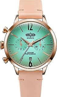 Welder smoothy Womens Analog Quartz Watch with Leather bracelet WRC100
