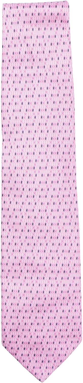 Italo Ferretti Men's Diamond Pattern Silk Necktie