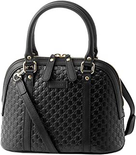 Gucci microguccissima bag black leather 449654 BMJ1G 1000