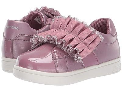 Geox Kids Djrock 32 (Toddler) (Dark Pink) Girls Shoes