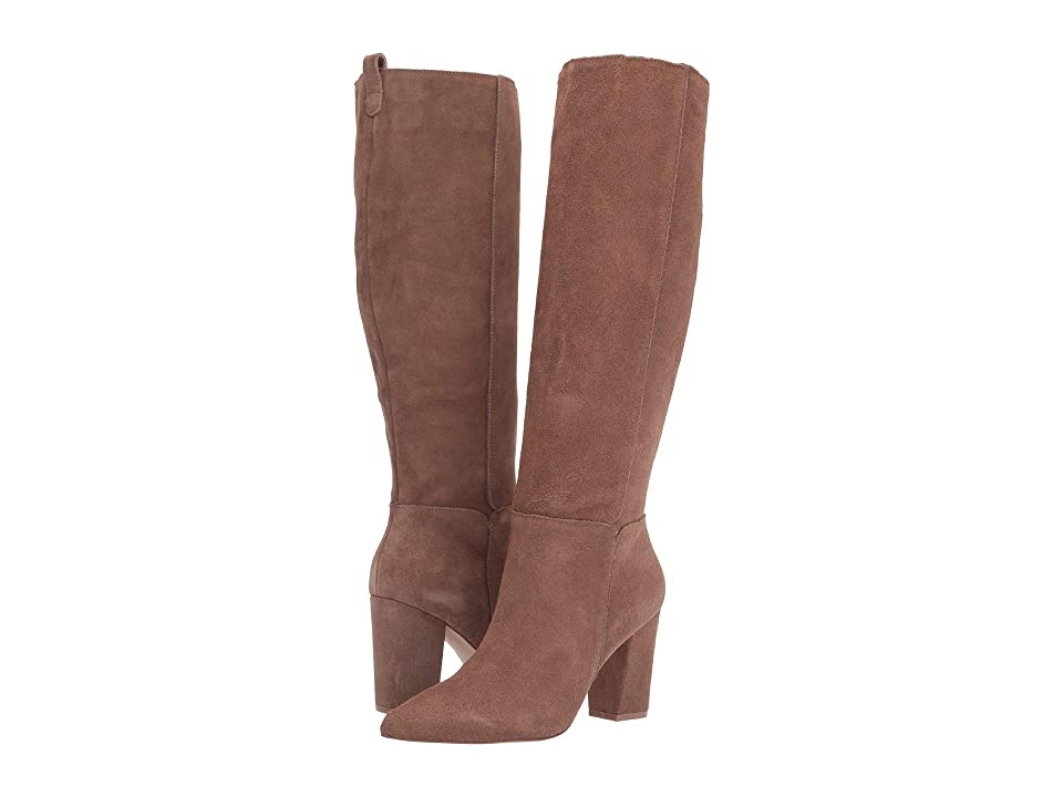 Steve Madden Raddle To the Knee Boot (Tan Suede) Women