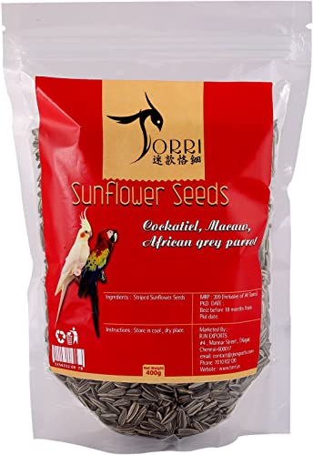 Torri Sunflower Seeds Bird Food, 400 g