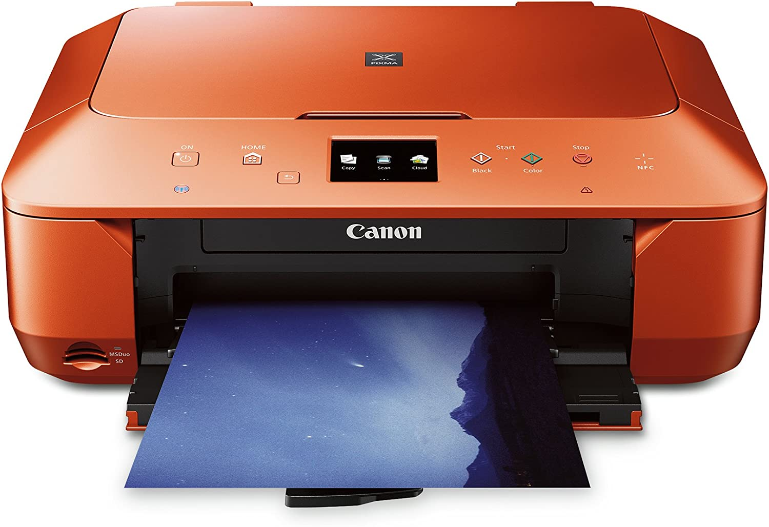 CANON PIXMA MG6620 WIRELESS ALL-IN-ONE COLOR CLOUD Printer, Mobile Smart Phone, Tablet Printing, and AirPrint(TM) Compatible, Burnt Orange