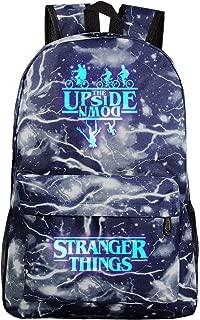 Stranger Things Backpack  Teen Girls Boys Kids Upside Down Run Galaxy Luminous School Bags Women Season Plaid Laptop Backpacks Men Travel Rucksacks Adult Bookbags Shoulder Bags Merchandise  33