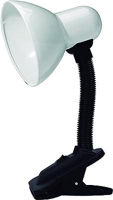 Luminaria Mesa E27 Taschibra TLM 05 Branco 40.0 Produzido em plástico com soquete de porcelana