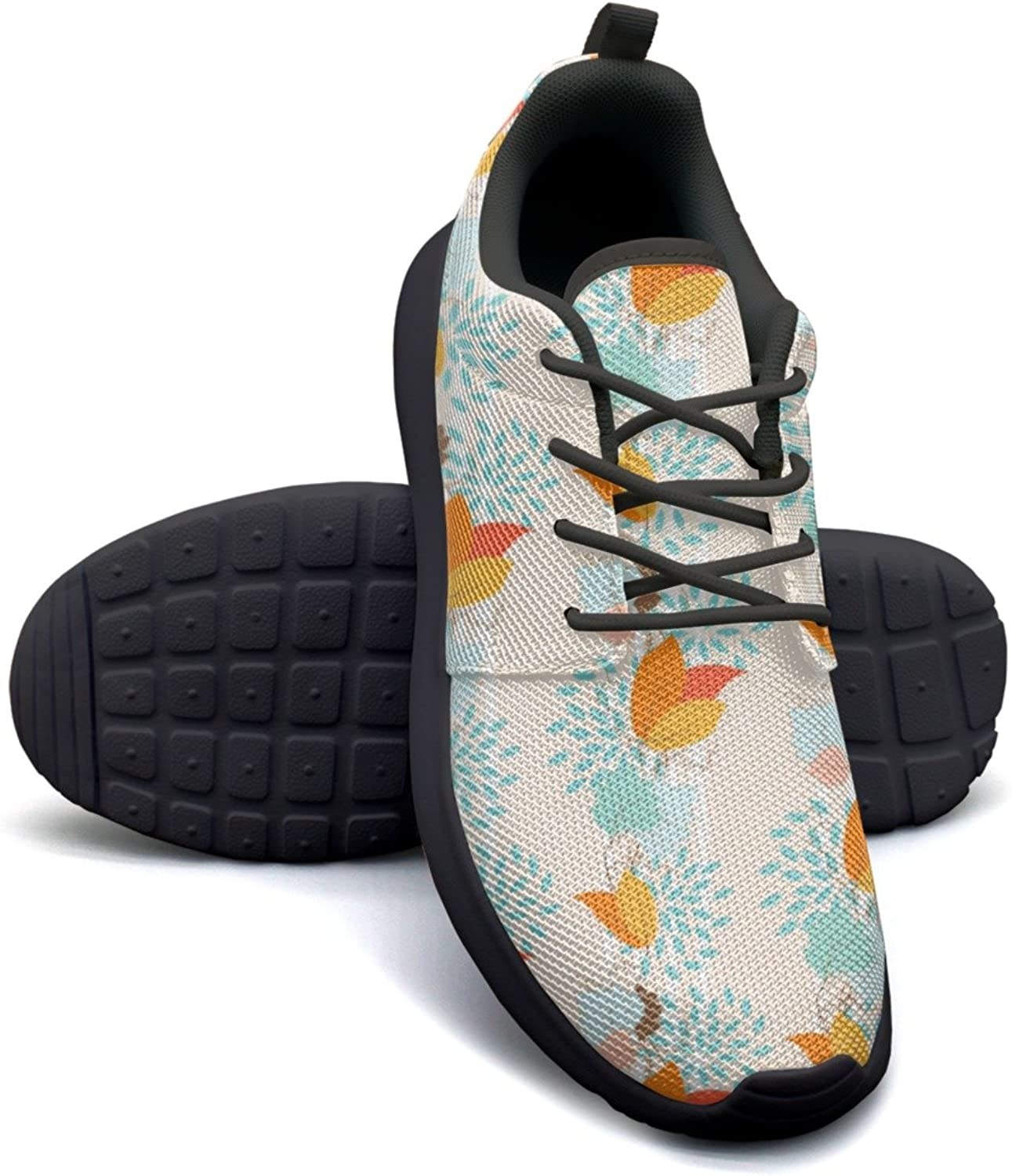 Eoyles gy Beautiful Ivy Plants Live Outdoor Pretty Women Slip Resistant Lightweight Running Basketball shoes