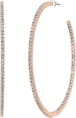 Kate Spade New York Save The Date Large Hoop Earrings