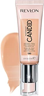 Revlon PhotoReady Candid Natural Finish Foundation, with Anti-Pollution, Antioxidant, Anti-Blue Light Ingredients, Ivory (...
