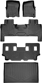 No EL or L Models SMARTLINER Cargo Trunk Liner Floor Mat Behind 3rd Row Black for 03-17 Ford Expedition//Lincoln Navigator