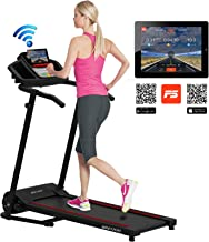 500w portable folding electric motorized treadmill - pink