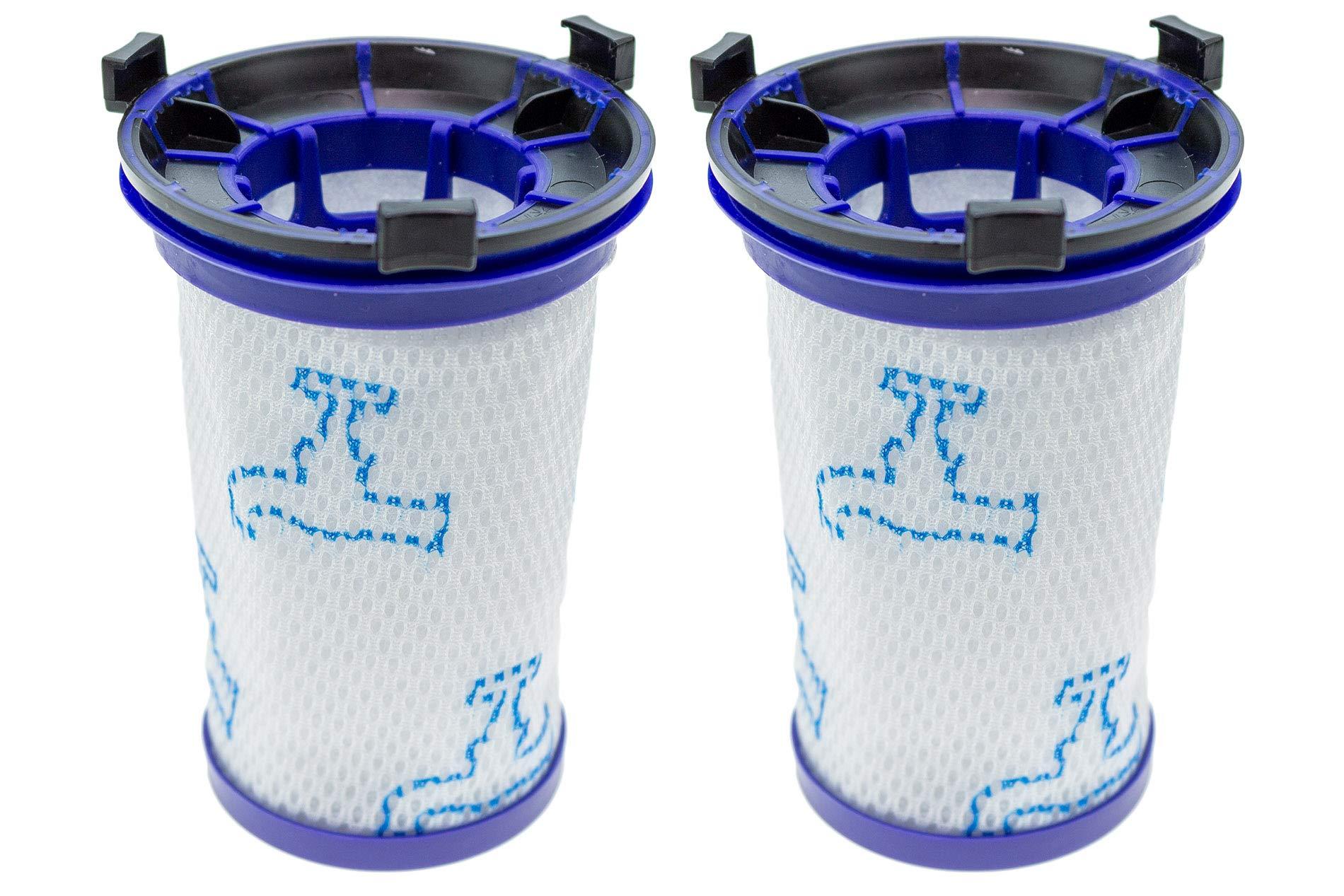2 filtros para aspiradora Rowenta Air Force 360 RH9037, RH9038, RH9039, RH9051WO, RH9057WO, RH9086WO (equivalente a ZR009001). 15416: Amazon.es: Hogar
