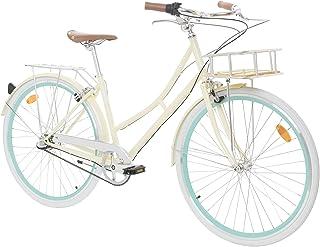 comprar comparacion Fabric City Bicicleta de Paseo- Bicicleta de Mujer con Cesta, Cambio Interno Shimano 3V, 5 Colores, 14kg