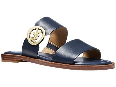 MICHAEL Michael Kors Summer Sandal (Navy) Women
