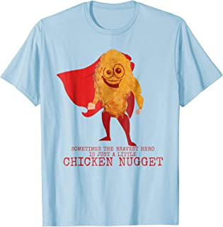 Funny T-Shirt - Chicken Nugget Superhero Tee