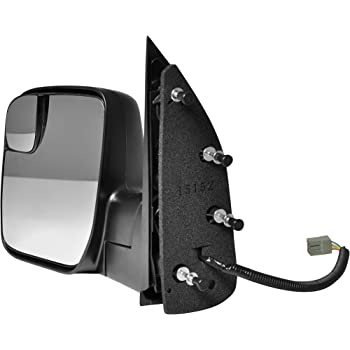 Amazon Com Dorman 955 495 Driver Side Manual Door Mirror Folding For Select Ford Models Black Automotive