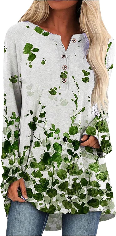 Women Pullover T Shirt Fashion Casual Cat Print V Neck Long Sleeve Blouse Tunics Autumn Winter Tops