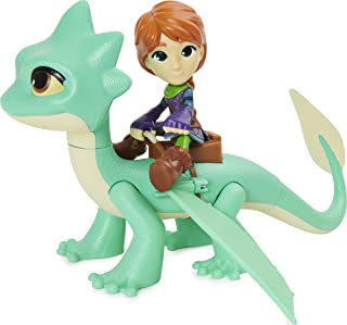 DreamWorks Dragons Rescue Riders, Summer and Leyla, Dragon and Viking Figures with Sounds and Phrases