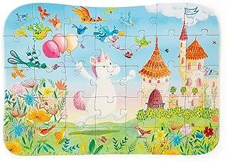 Jellycat Magical Unicorn Dreams Puzzle for Kids, 35 Pieces