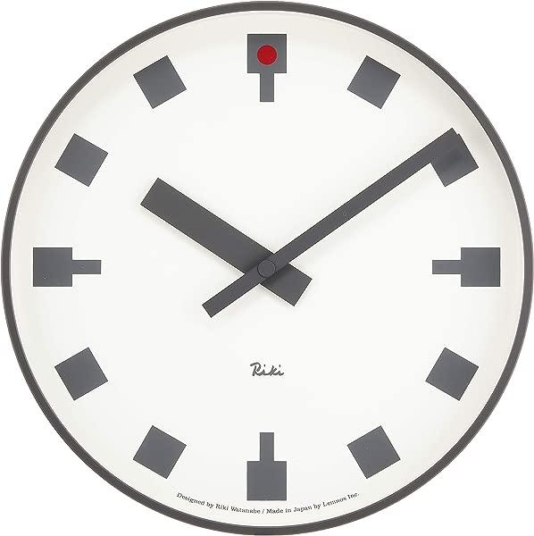 Lemnos WR12 03 L Hibiya No Tokei Wall Clock