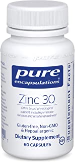 Pure Encapsulations Zinc 30 mg | Zinc Picolinate Supplement for Immune System Support, Growth and Development, Wound Heali...
