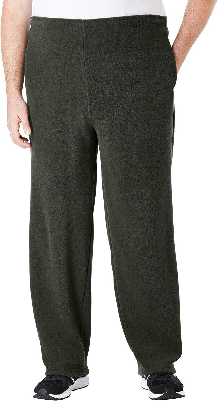KingSize Max 59% OFF Men's Big safety Tall Fleece Plush Pants Explorer