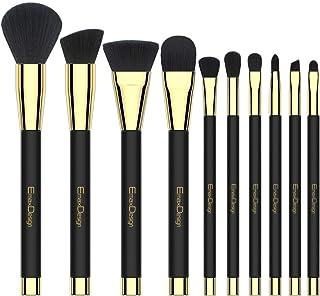 EmaxDesign Makeup Brushes 10 Pieces Makeup Brush Set