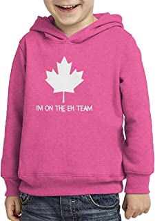I'm On The Eh Team - Canada Strong Toddler/Youth Fleece Hoodie