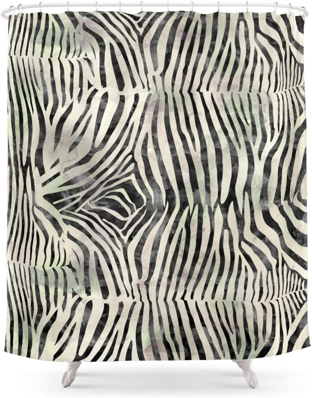 Max 40% OFF Society6 Zebra Print by Aloke New product Design on x - Shower Curtain 7 71