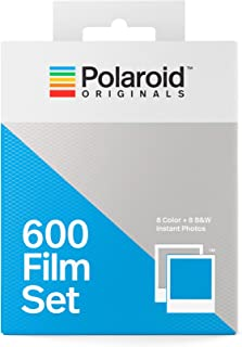 Polaroid Originals 600 Two Pack Film Set (1 Color + 1 B&W) (4844)