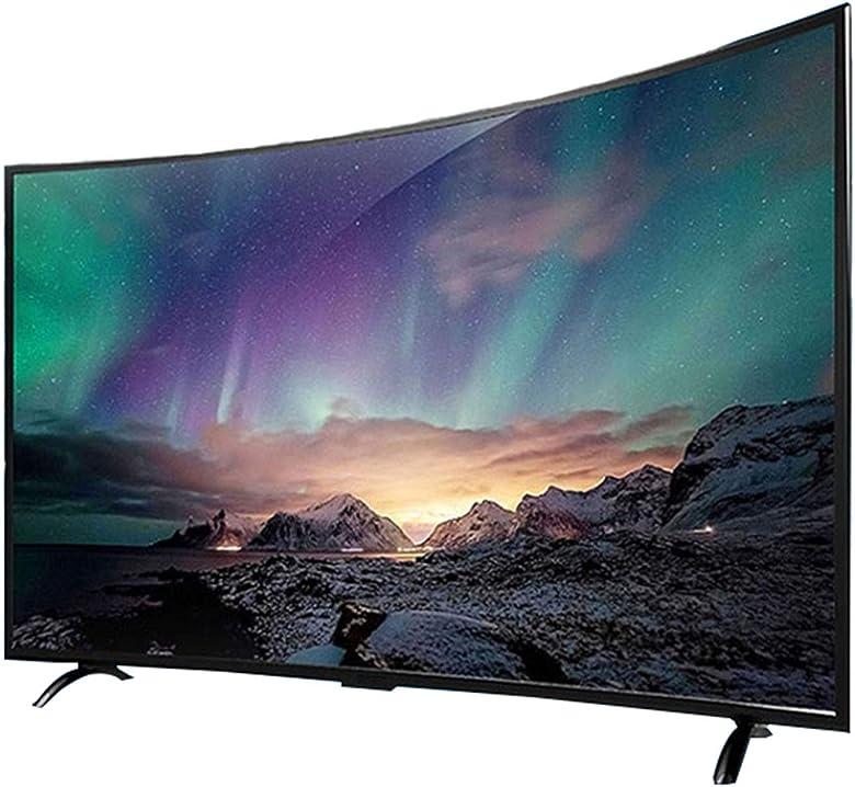Smart network tv curvo, tv di rete smart wifi lcd led ad alta definizione, smart tv 4k full - 55 pollici B08TTJTWQ7