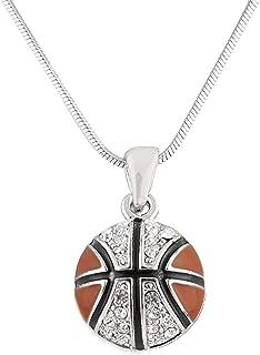 Best basketball necklace cheap Reviews