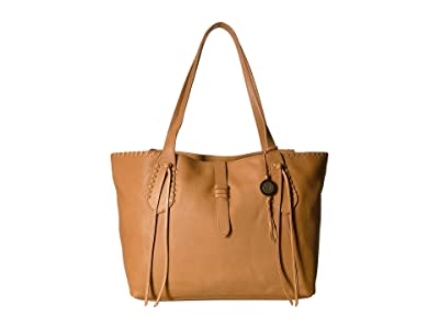The Sak Heritage Leather Tote (Ochre) Tote Handbags