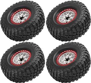4PCS RC Car Tires Toy Car Tires Accessory Spare Parts Wheels 1/10 RC Crawler Car