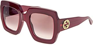 Gucci - Gafas de Sol Gucci GG0178S RED/RED SHADED 54/25/145 mujer