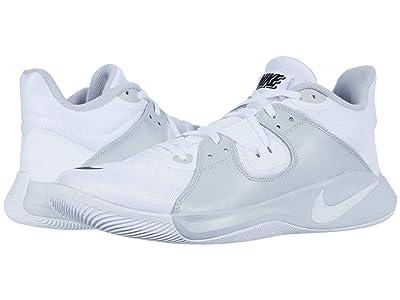 Nike Fly.By Mid (White/Black/Grey Fog) Men