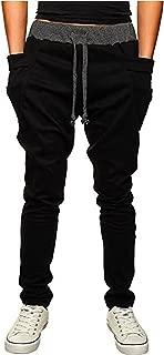 Boy's Slim Casual Comfy Skinny Running Jogger Pants