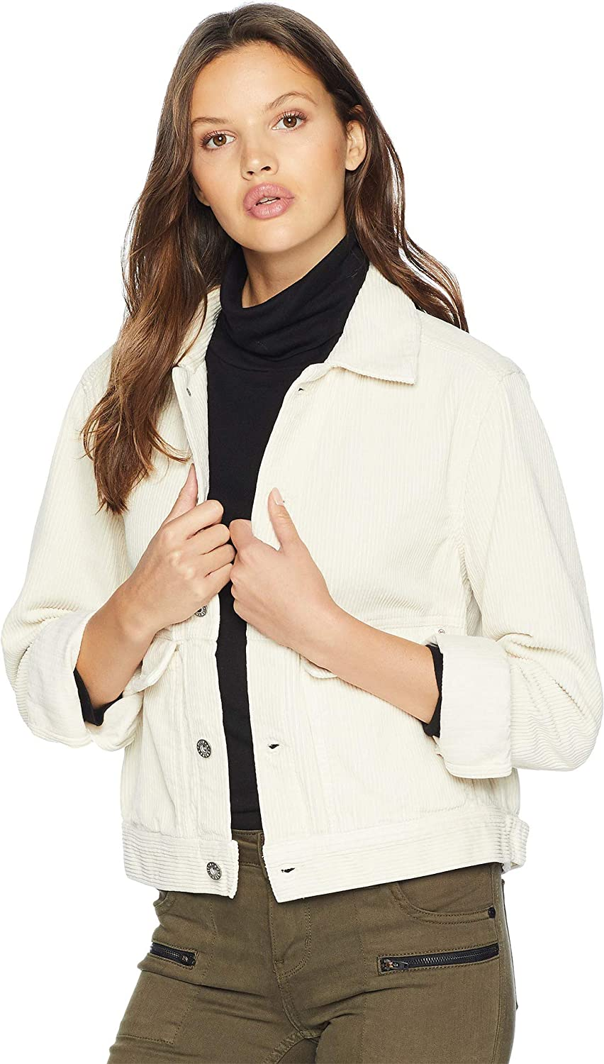 AG Adriano goldschmied Women's Evonne Jacket Ivory Dust Medium