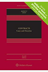 Contracts: Cases and Doctrine (Aspen Casebook Series) Kindle Edition