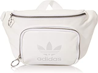 adidas Originals Premium Waist-Fanny Pack Travel Bag, White, One Size