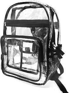 Bolsa Impermeable Bolsa Transparente Mochila Resistente PVC Liso Workbag de plástico
