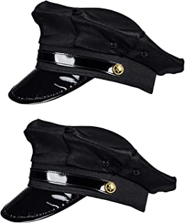 Chauffeur Hat - Limo Driver Hat - Police Hat - Costume Hats