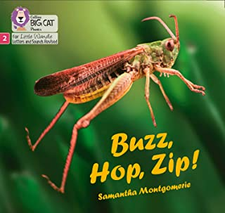 Buzz, Hop, Zip!: Phase 2 (Big Cat Phonics for Little Wandle Letters and Sounds Revised)