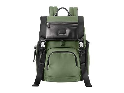 Tumi Alpha Bravo Lark Backpack (Forest) Backpack Bags