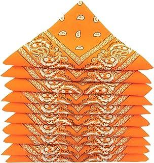 KARL LOVEN Lot de bandanas 100% Coton paisley foulard fichu bandana 25 couleurs au choix - Lot 5/10 / 20
