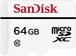 SanDisk High Endurance Video Monitoring MicroSDXC Card with Adapter, 64GB