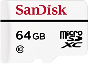 SanDisk High Endurance Video Monitoring Card with Adapter 64GB (SDSDQQ-064G-G46A)