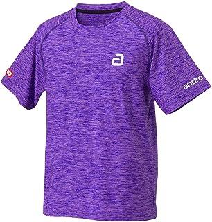 andro(アンドロ) 男女兼用 卓球 ウェア ゲームシャツ アンドロ メランジ ティーシャツ アルファ